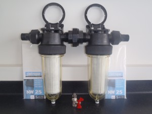 NW25 inline water filters